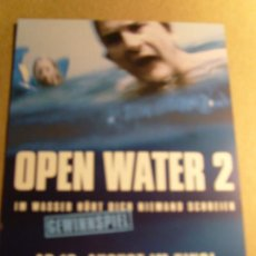 Cine: OPEN WATER 2 ORIGINAL. Lote 19204417