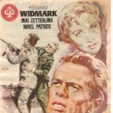 Cine: ATRACO EN LAS NUBES - RICHARD WIDMARK, MAI ZETTERLING, NIGEL PATRICK - DIRECTOR MARK ROBSON - JANO. Lote 27425258