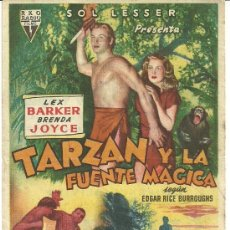 Cine: TARZAN Y LA FUENTE MAGICA CP. Lote 19401971