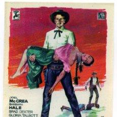 Cine: EL HOMBRE DE OKLAHOMA, CON JOEL MCCREA. S/I.. Lote 267870054