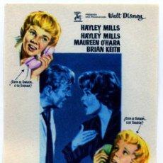 Foglietti di film di film antichi di cinema: TU A BOSTON Y YO A CALIFORNIA, CON MAUREEN O'HARA.. Lote 80061474