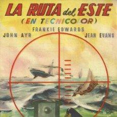 Cine: LA RUTA DEL ESTE CP. Lote 19524392
