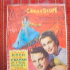 Cine: PROGRAMA. VALS REAL. MARIANNE KOCH, CON TEXTO DE PRIMER PREMIO DE LA REPÚBLICA ALEMANA 1955 S/P-. Lote 22626593