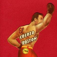Cine: EL COLOSO DE BOSTON , BOXEO , TROQUELADO, T18. Lote 20094658