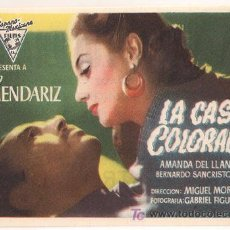 Cine: PR3 LA CASA COLORADA PROGRAMA SENCILLO HISPANO MEXICANA APAISADO PEDRO ARMENDARIZ. Lote 20198125