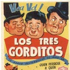 Cine: LOS TRES GORDITOS, ARAJOL. Lote 24564610