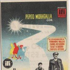 Cine: FOLLETO MANO - EL GOLFO QUE VIO UNA ESTRELLA.- PRODUC. IFI.- CINES FEMINA.- TARRAGONA. Lote 20608908