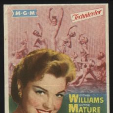 Cine: P-8293- LA PRIMERA SIRENA (MILLION DOLLAR MERMAID) ESTHER WILLIAMS - VICTOR MATURE - WALTER PIDGEON. Lote 21339165