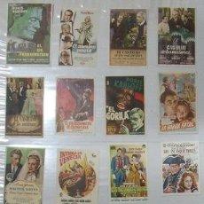 Cine: ZQ34D BORIS KARLOFF COLECCION DE 17 PROGRAMAS SENCILLOS ORIGINALES ESPAÑOLES. Lote 21415125