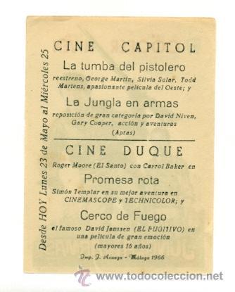 Cine: JUNGLA EN ARMAS , LA - PROGRAMA ORIGINAL CON PUBLICIDAD - - Foto 2 - 25313419