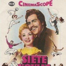 Cine: SIETE NOVIAS PARA SIETE HERMANOS TEATRO CALDERON DE VALLADOLID . Lote 21947167