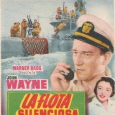Cine: LA FLOTA SILENCIOSA DE JOHN WAYNE . Lote 21947979
