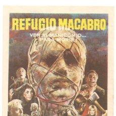 Cine: REFUGIO MACABRO, PETER CUSHING. Lote 24322185