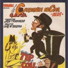 Cine: LA GARBANZA NEGRA (COMEDIA). Lote 22566623