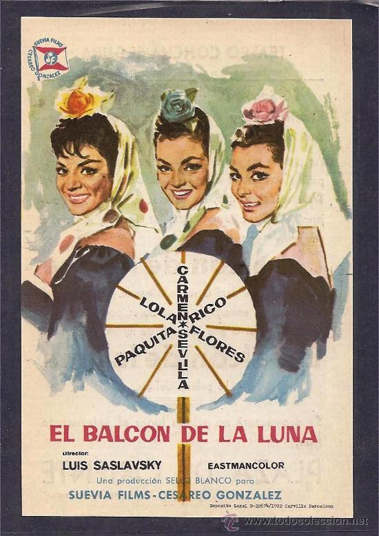 El balc n de la luna pel cula folcl rica comprar comedia - El balcon de la luna ...