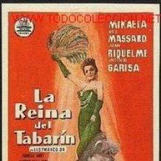 Cine: LA REINA DEL TABARIN. Lote 22486179