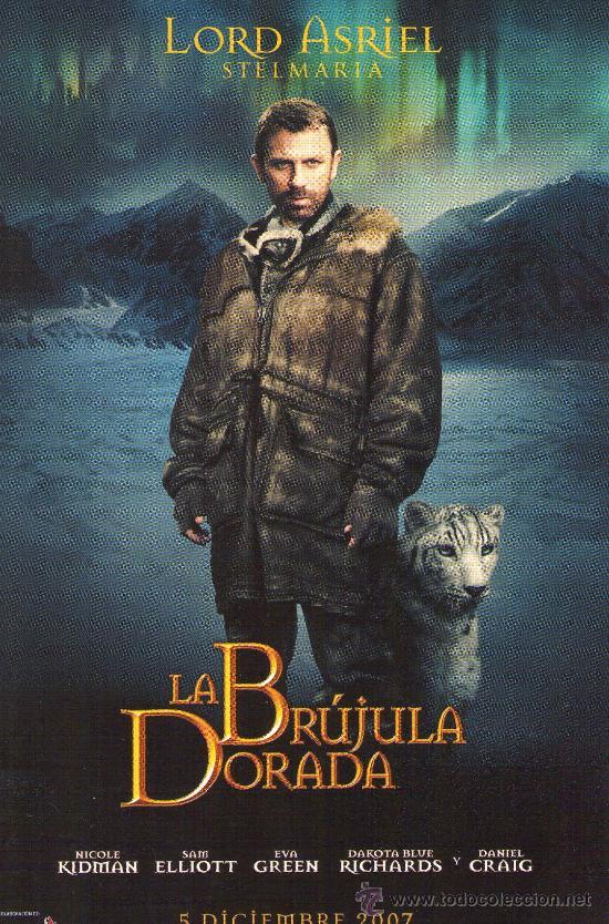 66A- POSTAL DEL FILM: LA BRUJULA DORADA (Cine - Folletos de Mano - Infantil)