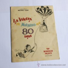 Cine: LA VUELTA AL MUNDO EN 80 DÍAS, CANTINFLAS. Lote 22590584