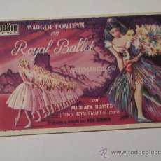 Cine: ROYAL BALLET (MARGOT FONIEYN). Lote 25195058