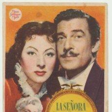 Cine: LA SEÑORA PARKINGTON. SENCILLO DE MGM:. Lote 22738273