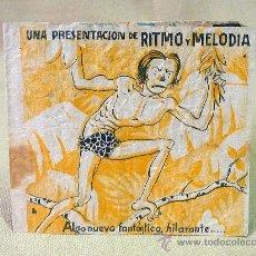 Cine: PROGRAMA DE CINE, RITMO Y MELODIA, TARZAN, 1941, ORIGINAL. Lote 22928167