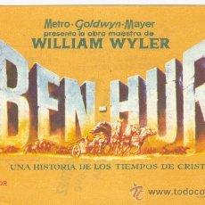 Cine: BEN-HUR WILLIAN WYLER. Lote 22934399