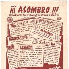 Cine: EL LIBRO DE LA SELVA PROGRAMA SENCILLO GRANDE CAPITOLIO SABU ALEXANDER KORDA. Lote 22998164