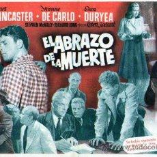 Cinema - EL ABRAZO DE LA MUERTE CON PUBLICIDAD - 26748029