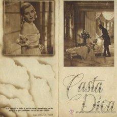 PROGRAMA DOBLE DE CINE: CASTA DIVA (PC-1151)