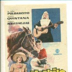 Cine: MI NIÑO Y YO - PROGRAMA ORIGINAL CON PUBLICIDAD -. Lote 27269336