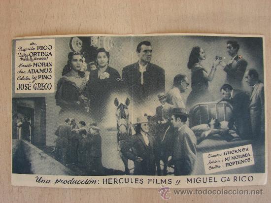 Cine: PROGRAMA DE CUNE ANTIGUO. BRINDIS A MANOLETE. 1949 - Foto 2 - 26237839