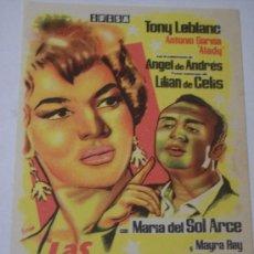 Cine: LAS ESTRELLAS (TONY LEBLANC / ANTONIO GARISA). Lote 23405190