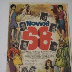 Cine: NOVIOS 68 (ARTURO FERNANDEZ / SONIA BRUNO / JOSE L. LÓPEZ VAZQUEZ). Lote 23416006