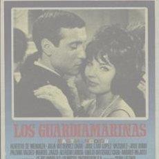 Cine: LOS GUARDAMARINAS (PROGRAMA DE MANO ORIGINAL). Lote 23764436