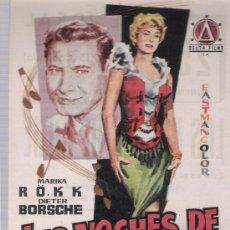 Cine: LAS NOCHES DE IRENE. SENCILLO DE DELTA FILMS. CINE IDEAL. ¡IMPECABLE!. Lote 23802918
