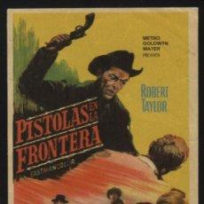 Cine: P-1145- PISTOLAS EN LA FRONTERA (CATTLE KING) ROBERT TAYLOR - ROBERT LOGGIA - JOAN CAULFIELD. Lote 23803138