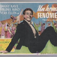 Cine: UN HOMBRE FENÓMENO. SENCILLO DE FLORALVA. CENTRAL CINEMA - ISLA CRISTINA.. Lote 23843409