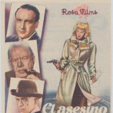 Cine: EL ASESINO POETA. SENCILLO DE ROSSA FILMS. COLISEO OLYMPIA.. Lote 23858520