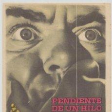 Cine: PENDIENTE DE UN HILO. SENCILLO DE ROSA FILMS. CINE ROXY.. Lote 23858916