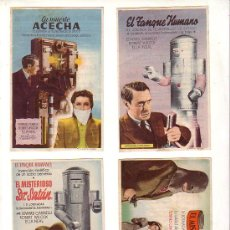 Cine: JORNADAS - 4 - EL MISTERIOSO DR. SATAN - PROGRAMA ORIGINAL CON PUBLICIDAD -. Lote 26011005