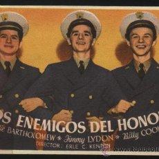 Cine: P-2552- LOS ENEMIGOS DEL HONOR (NAVAL ACADEMY) FREDDIE BARTHOLOMEW - JIMMY LYDON - BILLY COOK. Lote 23881957