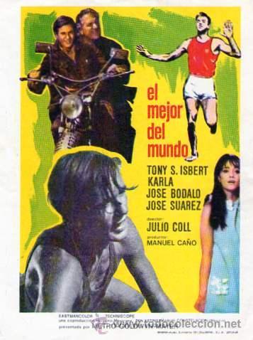 EL MEJOR DEL MUNDO SIN CINE IMPRESO (Cine - Folletos de Mano - Deportes)