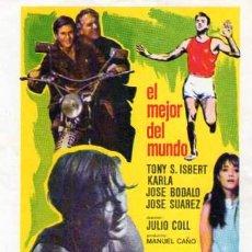 Cine: EL MEJOR DEL MUNDO SIN CINE IMPRESO. Lote 24089526