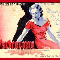 Cine: EL AGUA EN EL SUELO , CIFESA , ILUSTRADO POR RENAU , TARJETA , ORIGINAL, S1855. Lote 24154512