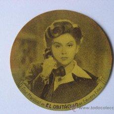 Cine: CINE.TROQUELADO DE 20 TH CENTURY FOX,30 ANIVERSARIO,AÑO 1945.ANA MARISCAL EN EL OBSTACULO.. Lote 24332695