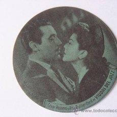 Cine: CINE.TROQUELADO DE 20 TH CENTURY FOX,30 ANIRIO,AÑO 1945.CESAR ROMERO,ANA RUTHERFORD.VIUDAS DEL JAZZ. Lote 24332751