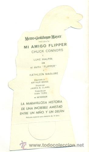 Cine: MI AMIGO FLIPPER - PROGRAMA ORIGINAL TROQUELADO CON PUBLICIDAD - IMPECABLE - Foto 2 - 26693038