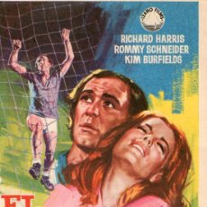 Cine: EL IDOLO CAIDO - IZARO FILMS - ROMMY SCHNEIDER, RICHARD HARRIS - PROGRAMA CINE ORIGINAL. Lote 28358669