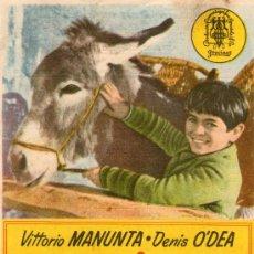 Cine: PEPPINO Y VIOLETA-PROCINES-VITTORIO MANUNTA,DENIS O´DEA-PROGRAMA CINE ORIGINAL ESPECIAL NAVIDAD. Lote 27424606