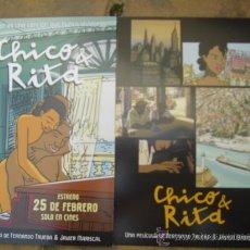 Cine: CHICO & RITA. Lote 24897147